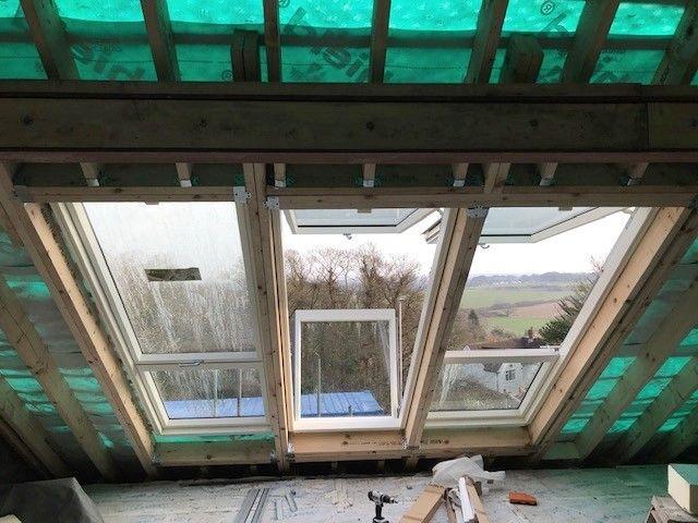 balkon tipi çatı penceresi perde modeli