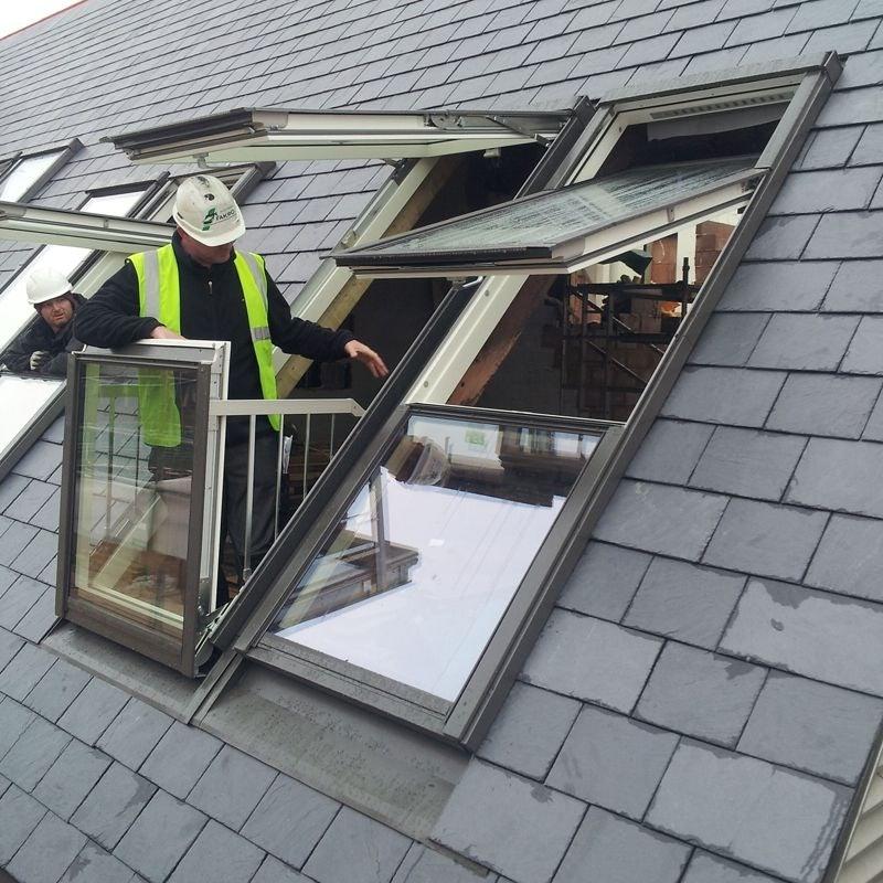fakro balkon tipi çatı penceresi istanbul