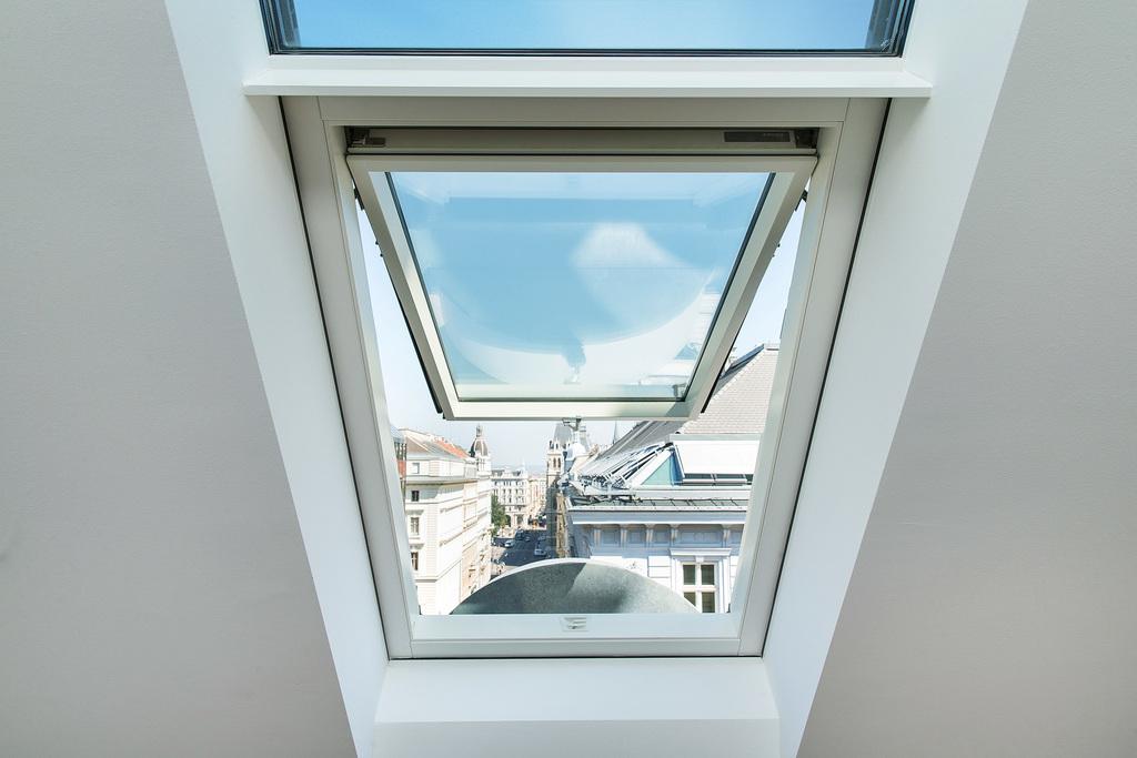 iyi çift açılımlı pivot çatı pencereleri