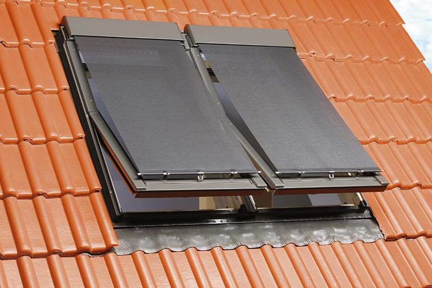 çatı penceresi gölgeliği perde modelleri