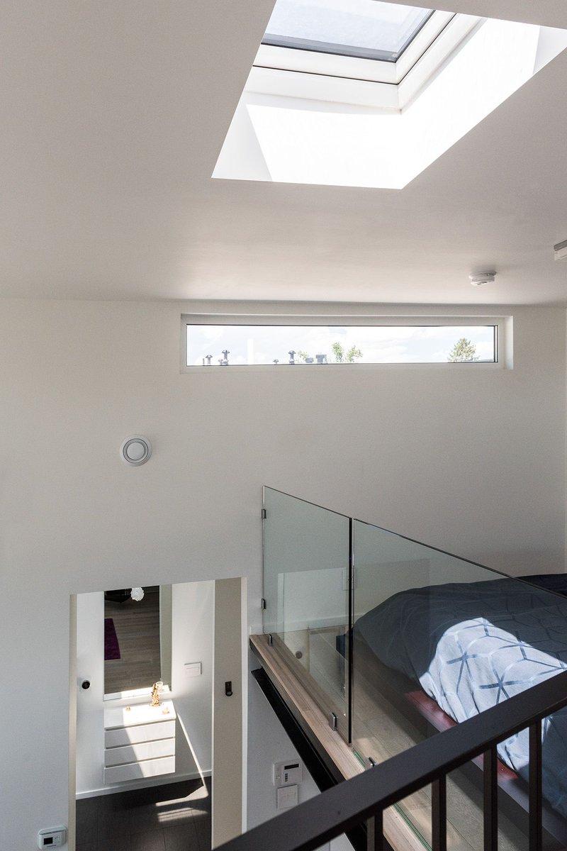 düz tavan arası çatı pencereleri