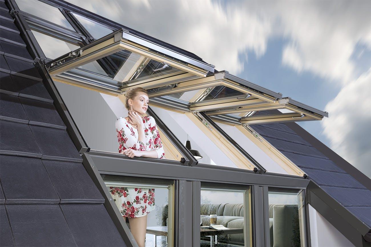 L kombinasyonlu üstten çatı penceresi fiyatı